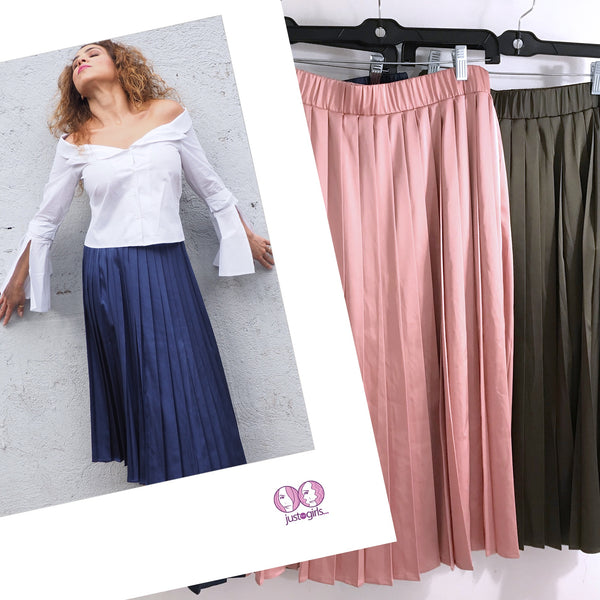 PLEATS Pleated Skirt