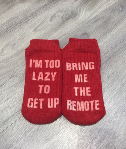 REMOTE Red Socks