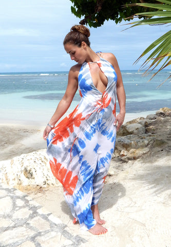 Just Two Girls...Indah Imani Tie-Dye Dress