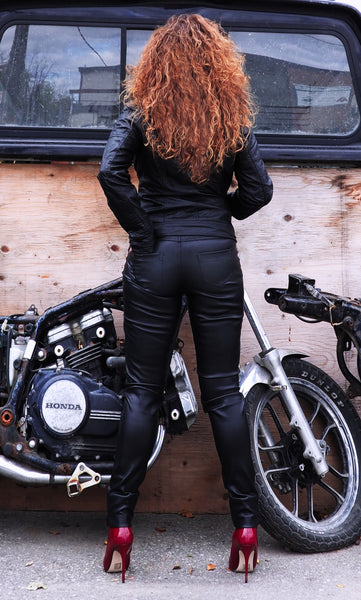 BIKER Vegan Leather Jacket