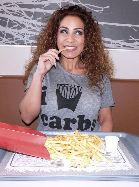 Just Two Girls... I LOVE CARBS Tee