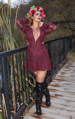 Just Two Girls...JOLENE For Love and Lemons Lace Dress