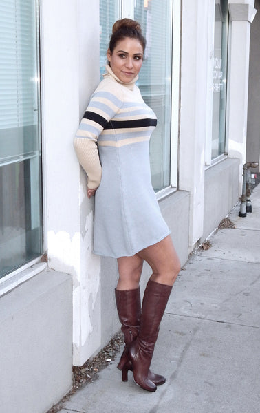Just Two Girls...MON CHERIE Mini Sweater Dress