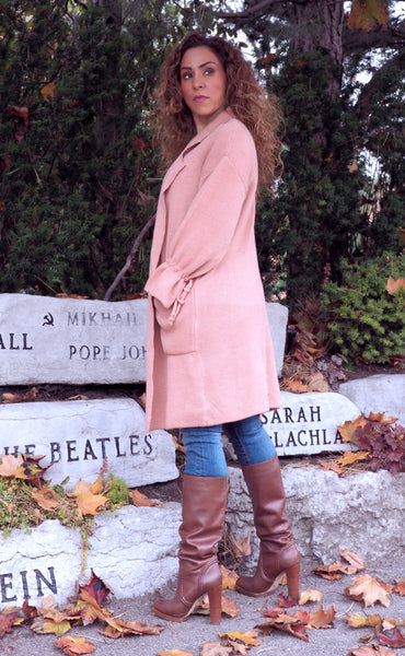 FALL Blush Cardigan
