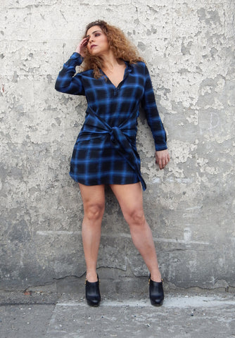 BILLIE Plaid Dress