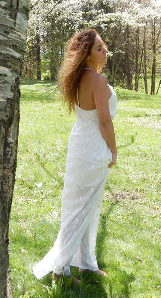 Just Two Girls...Purity White Maxi Dress
