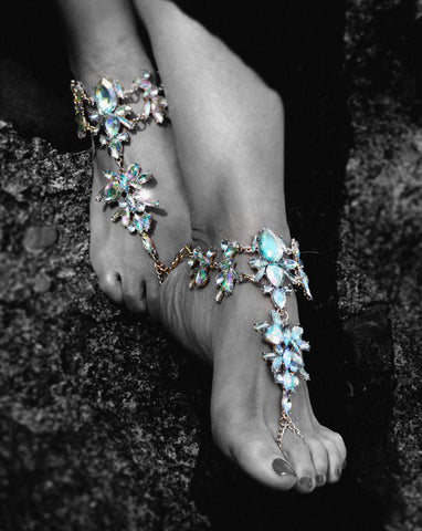 Just Two Girls... STAR Feet Jewels