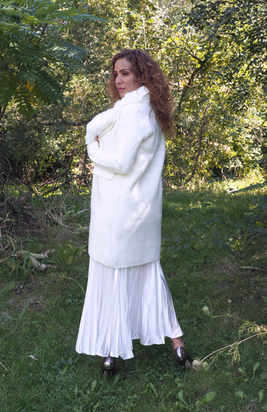 FIONA Winter White Coat