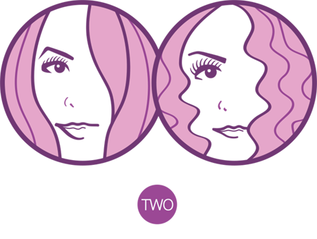 Just Two Girls...