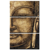 Limited Edition Buddha 3 Piece Canvas