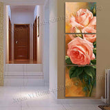 Dainty Flower 3 Piece Canvas