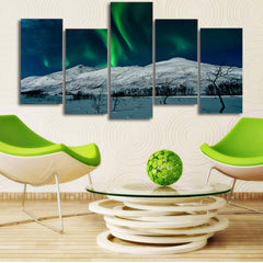 Strong Deer 5 Piece Canvas