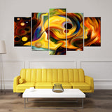Abstract Mind 5 Piece Canvas