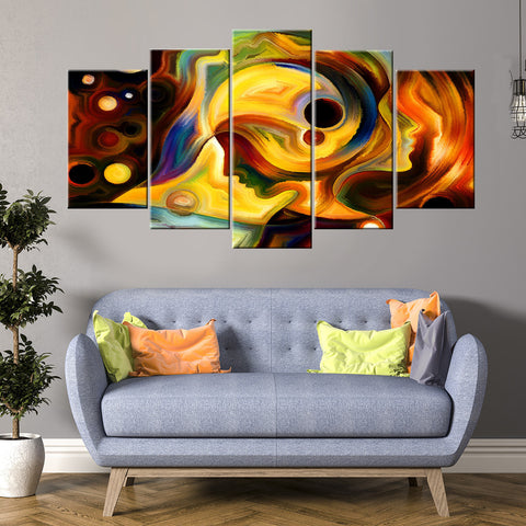 Ambulance Zoom 5 Piece Canvas