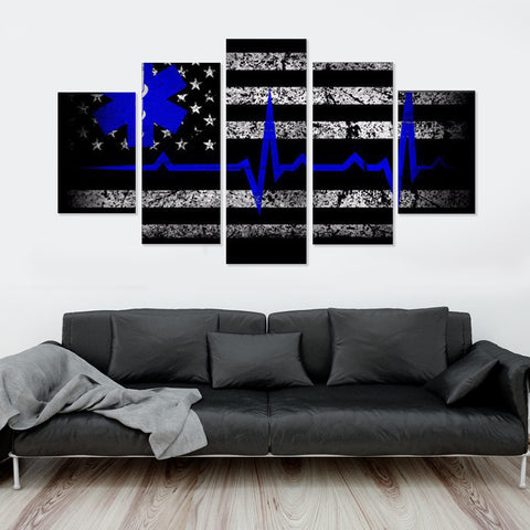 Confederacy 5 Piece Canvas