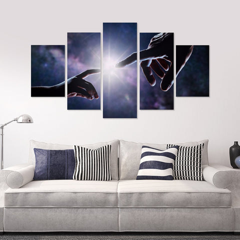 Balloon Escape 5 Piece Canvas