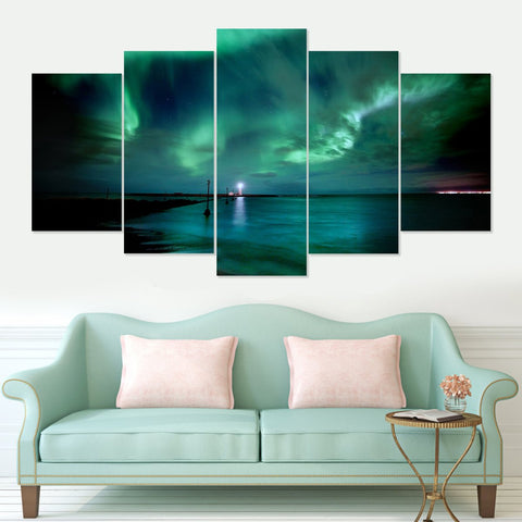 Heroes of War 5 Piece Canvas