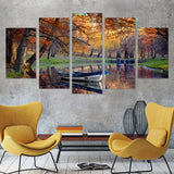 Autumn Silence 5 Piece Canvas