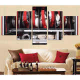 Fire Hose 5 Piece Canvas