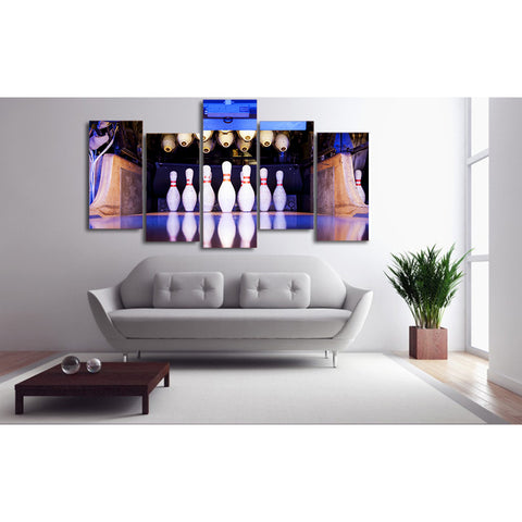 Wave Fold 5 Piece Canvas