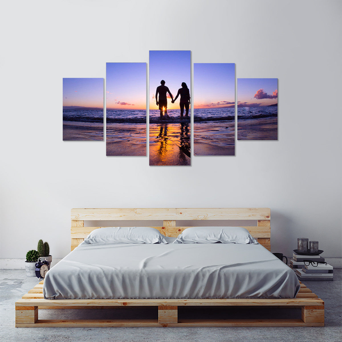 Sunset Lover 5 Piece Canvas