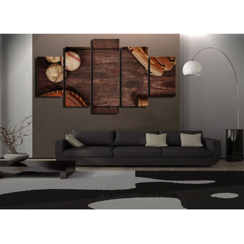 Northern Lights 5 Piece Canvas