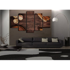 Vibrant Vineyard 5 Piece Canvas