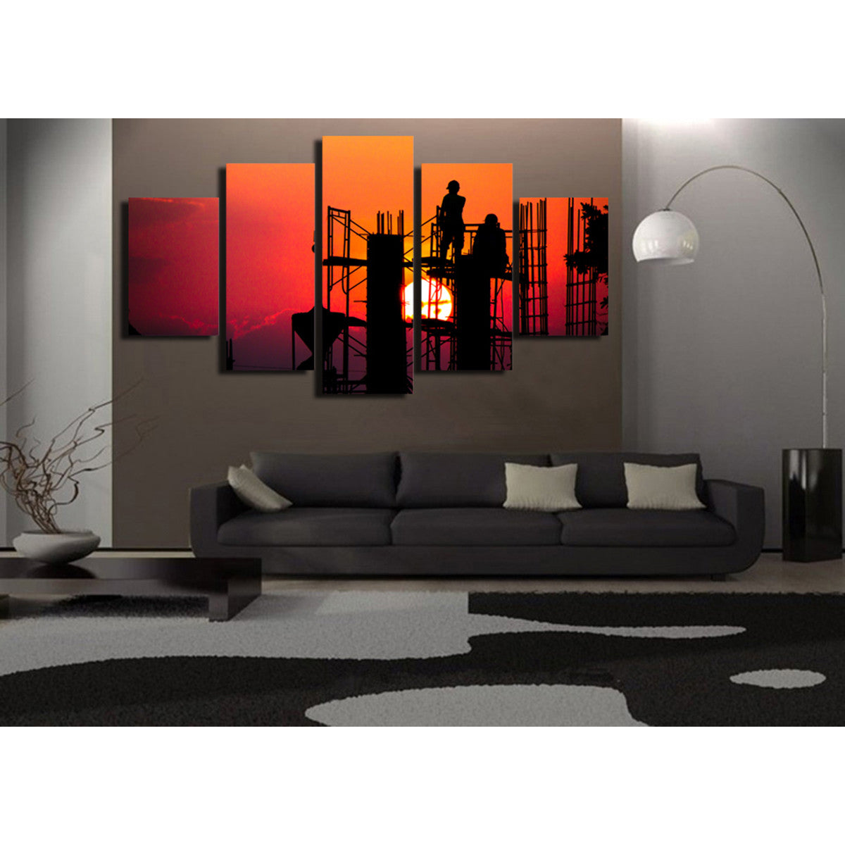 The Builders 5 Piece Canvas