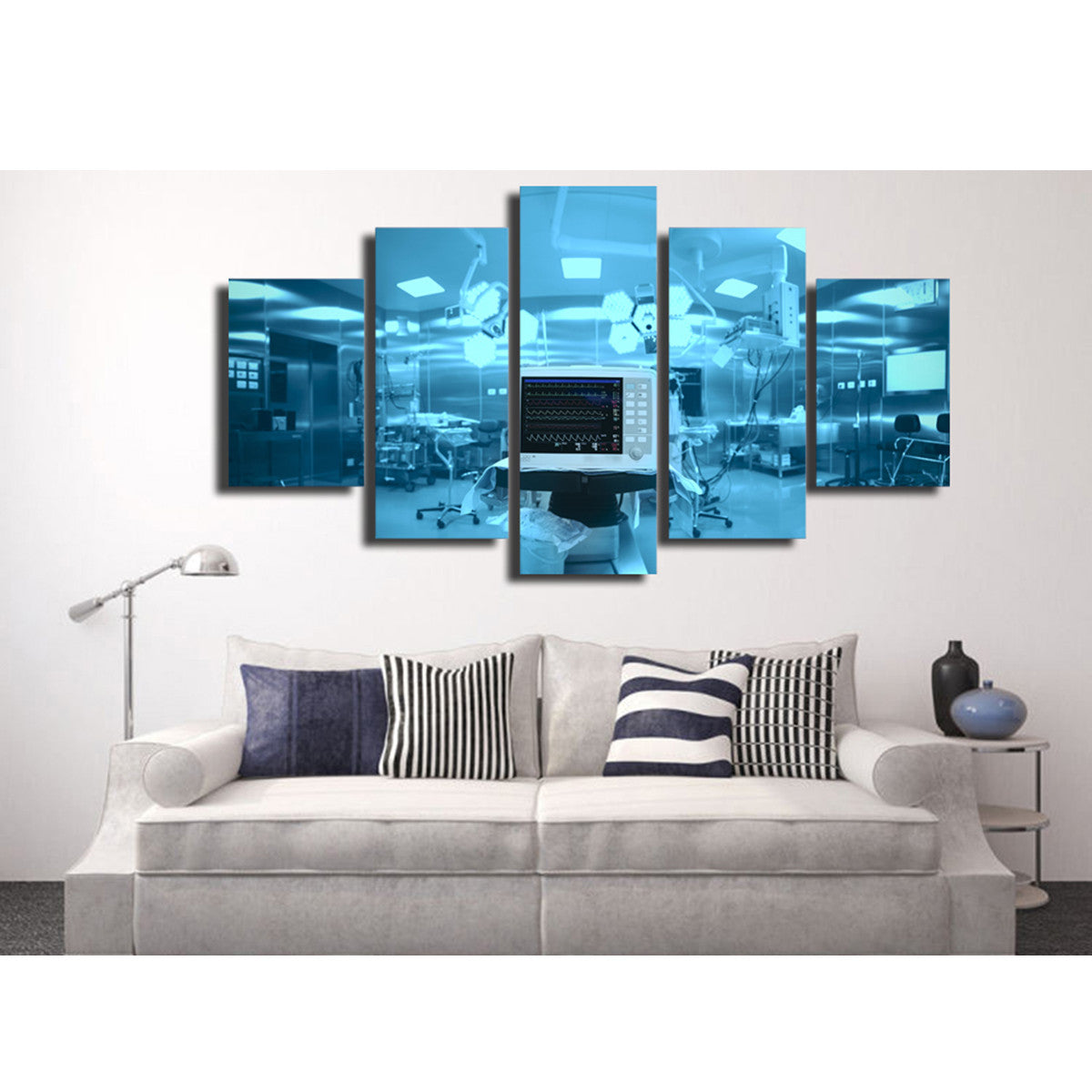 Operating Room 5 Piece Canvas