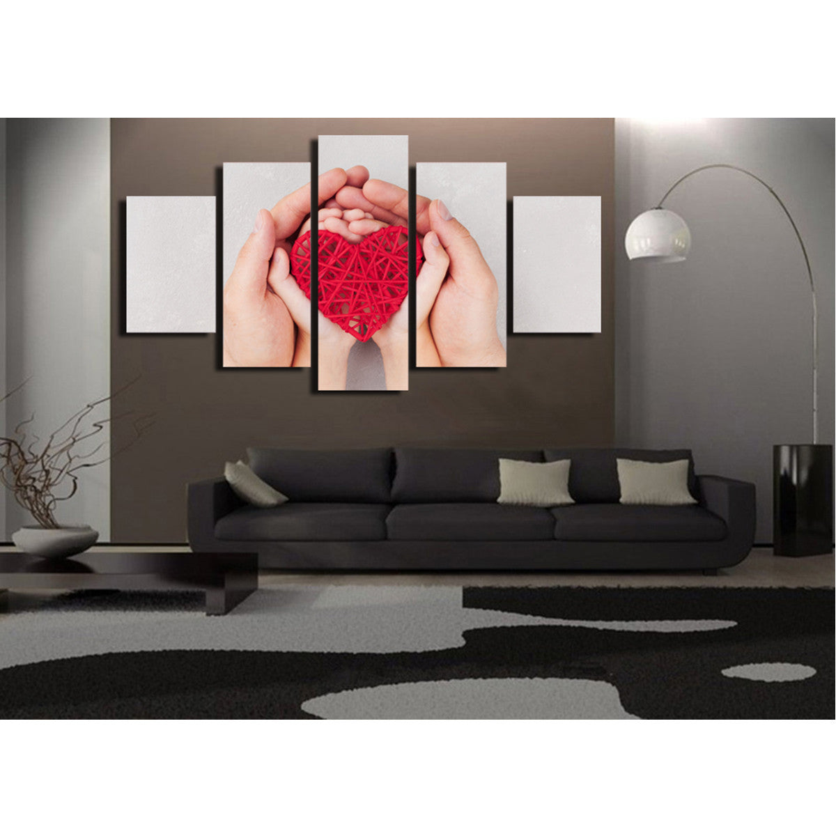 Mother's Love 5 Piece Canvas
