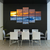 Surfing Masters 5 Piece Canvas