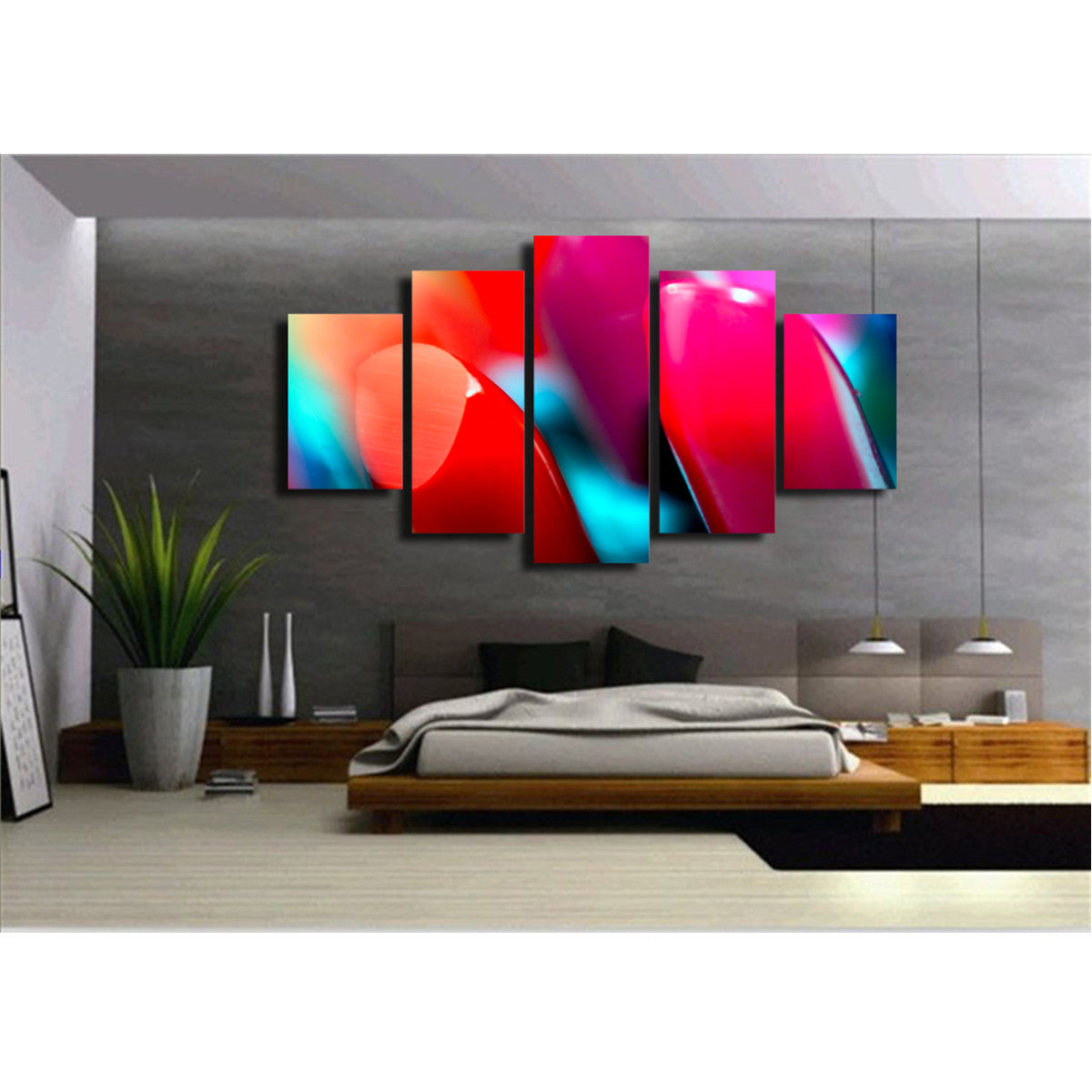 Lipstick 5 Piece Canvas
