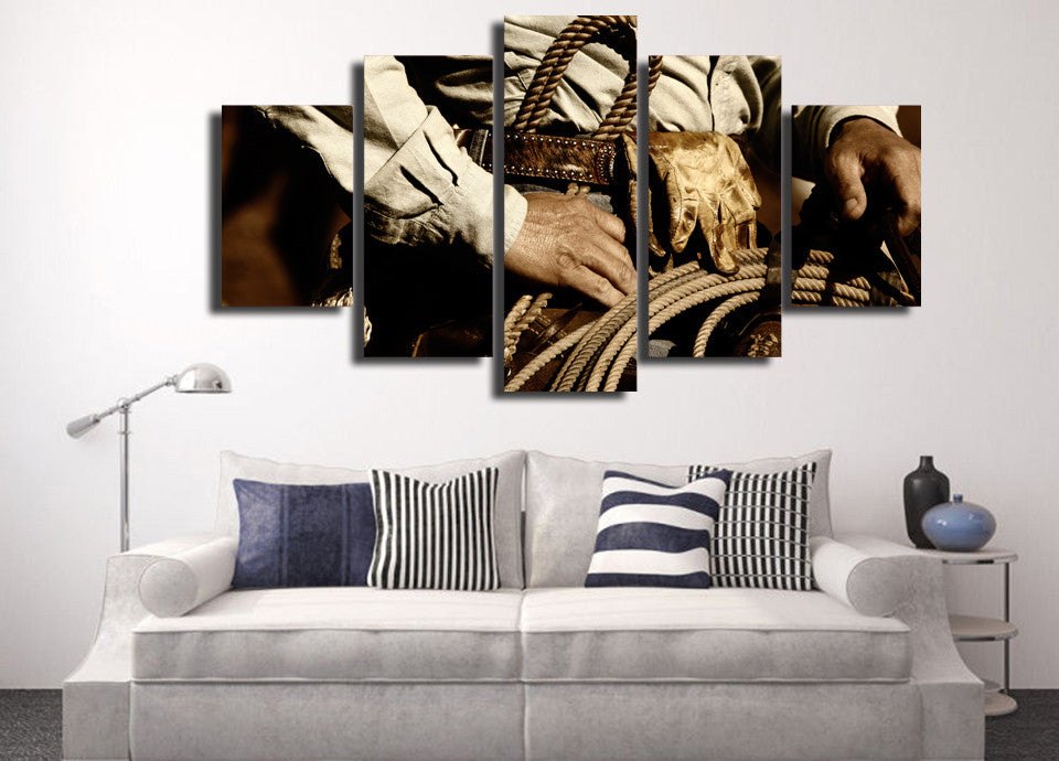 Rodeo Ready 5 Piece Canvas