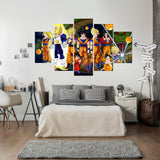 Dragon Ball 5 Piece Canvas