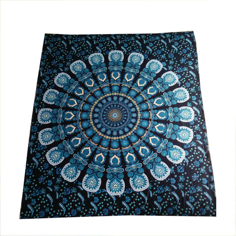 Peacock Tail Tapestry