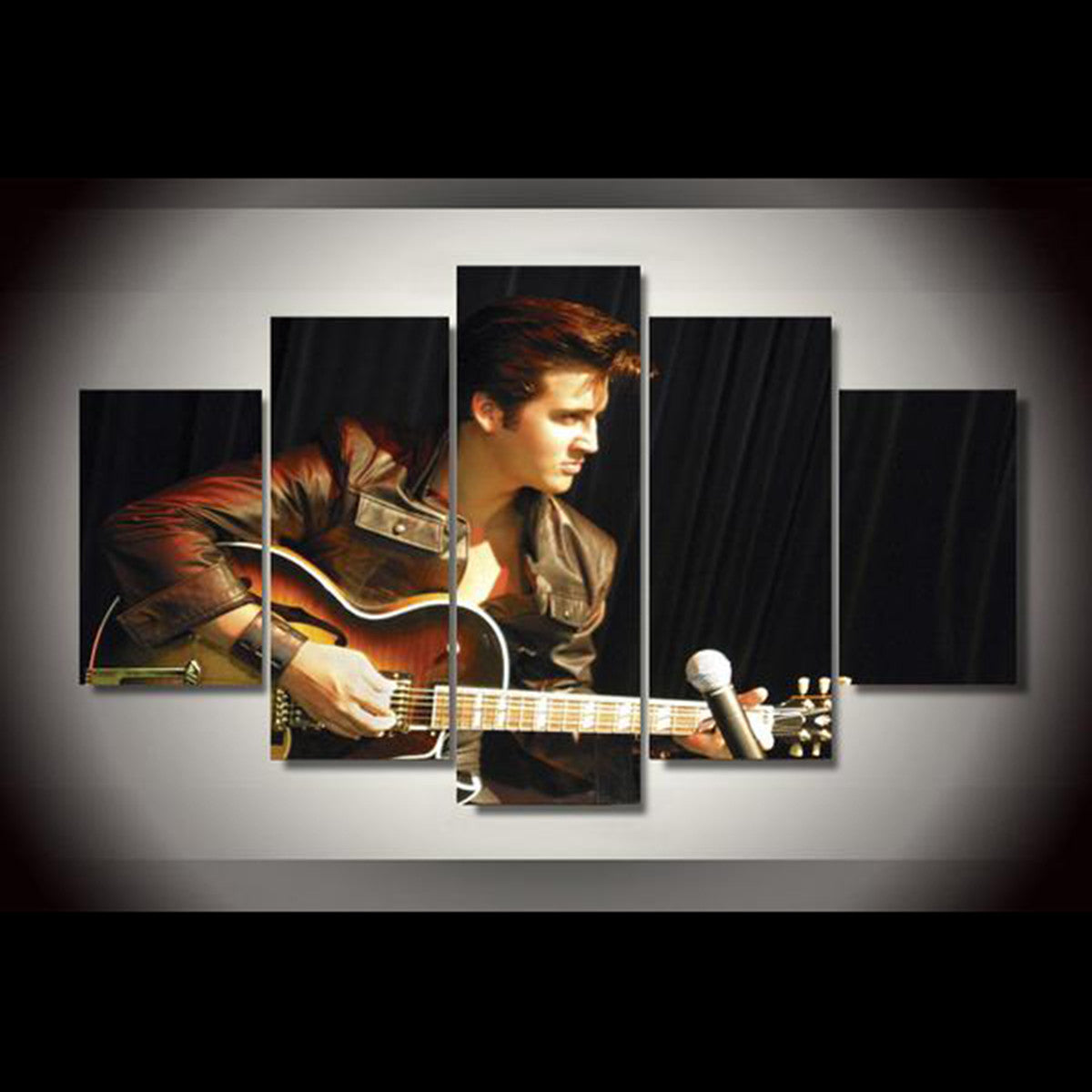 Brandon Bennett as Elvis Presley 5 Piece Canvas