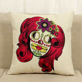 Skull Print Pillowcases
