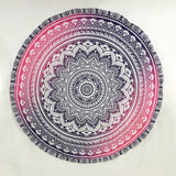 Ombre Lotus Tapestry