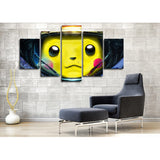 Pikachu Astronaut 5 Piece Canvas