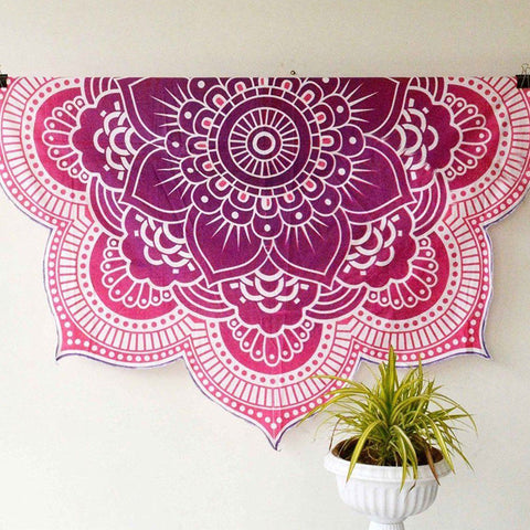 Lotus Flower Tapestry