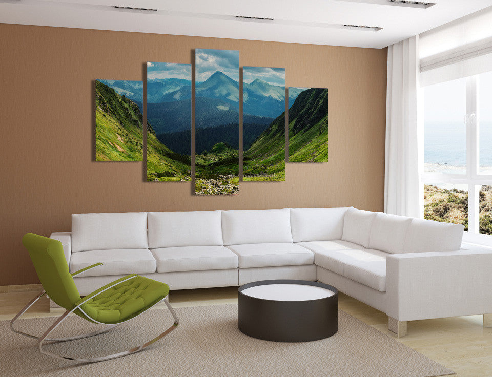 The Valley 5 Piece Canvas