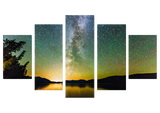 Magnificent Skies 5 Piece Canvas