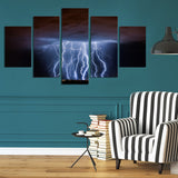 Tucson Lightning 5 Piece Canvas