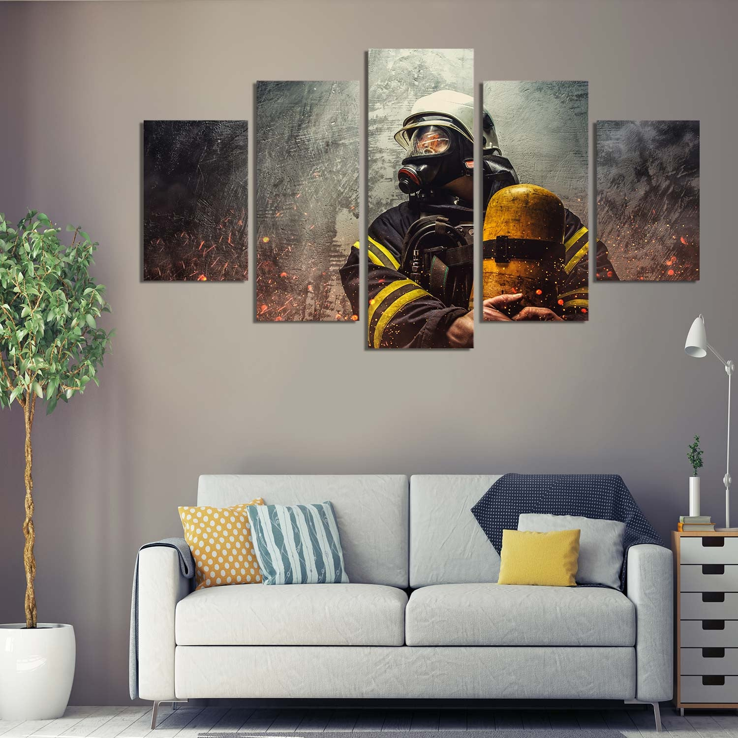 Rescue Mission 5 Piece Canvas