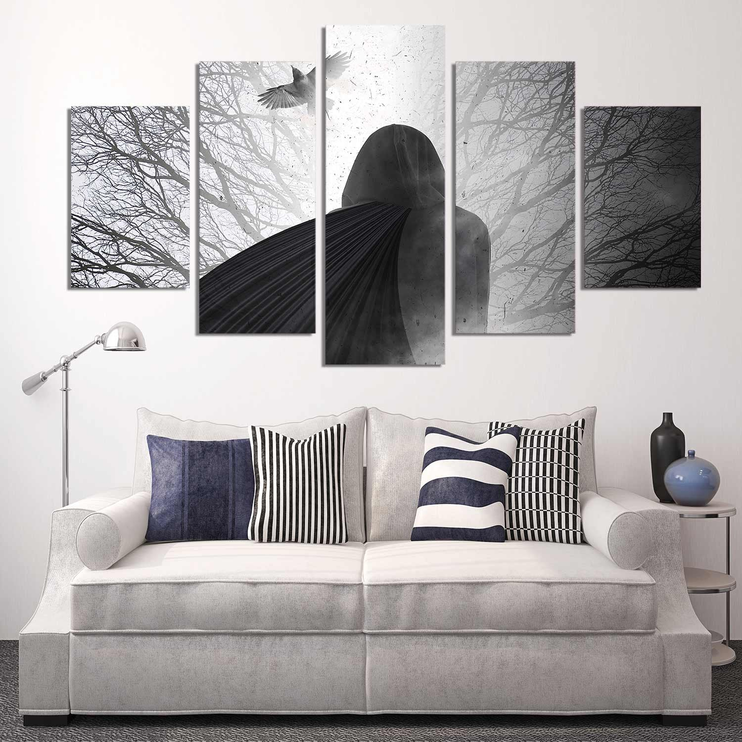 The Man in the Cloak 5 Piece Canvas