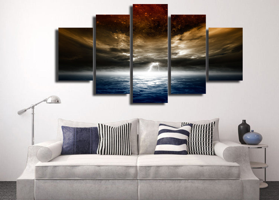 Electrified 5 Piece Canvas