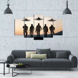 Soldier Back Up 5 Piece Canvas