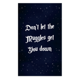 Don't Let The Muggles 1 Piece Canvas