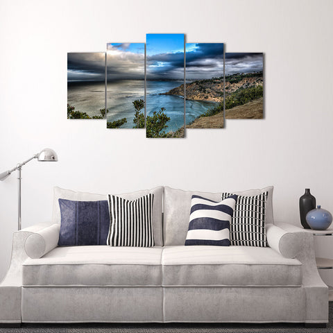 Offshore Oil Rig 5 Piece Canvas
