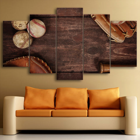 Ancient Treasures 5 Piece Canvas